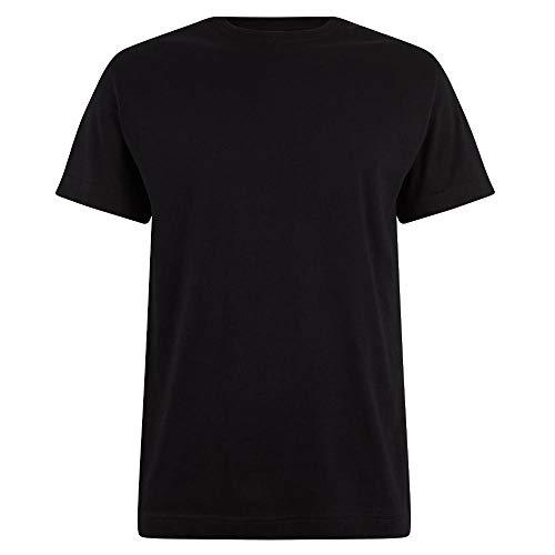 Logostar - Basic T-Shirt - Übergrößen bis 15XL / Black, 6XL -