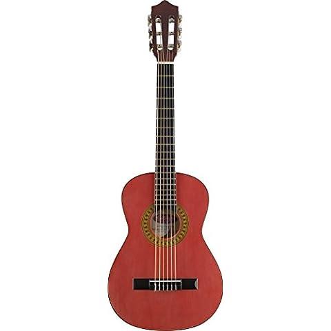 Stagg C510TR Chitarra da concerto 1/2, colore: rosso