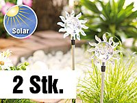 """Lunartec Solar-LED-Gartendeko """"Sonne"""", 2er-Set von Lunartec auf Lampenhans.de"""