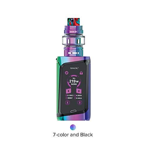 SMOK Morph 219 Cigarette électronique Kit complet de démarrage avec réservoir TF 6ML - Sans Nicotine ni Tabac (7 Couleur Noir)