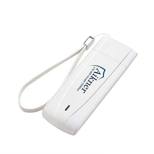 Aikner Unlocked AIK-4D 4G/LTE Wi-Fi Dongle - White