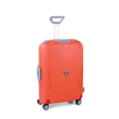 Roncato Trolley Medio 4r Roncato Light Maleta, 68 cm, 80 litros, Arancio