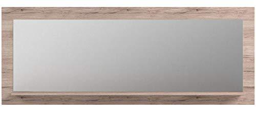 trendteam PT45188 Wandspiegel Eiche Sand Nachbildung, BxHxT 168 x 65 x 14,5 cm - 5