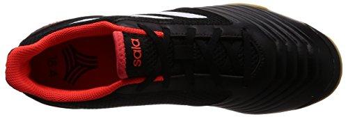 adidas Herren Predator Tango 18.4 Sala Fußballschuhe Schwarz (Core Black/ftwr White/solar Red)
