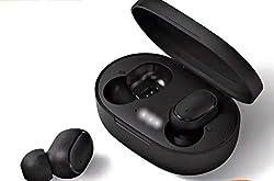 Xiaomi Redmi Airdots, TWS Wireless Bluetooth 5.0 Headphones Charging Box True Stereo Sound Wireless Bluetooth Headphones with Microphone Hands-Free Headphones AI Control black