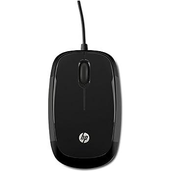 HP X1200 - Ratón con cable (USB, 1200 dpi, cable), Negro