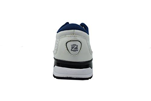 ... Zerimar Scarpe da Golf Fabbricati in Pelle Bovina Sport e Confortevole  Casual Running Bianco ... fc926b17c87