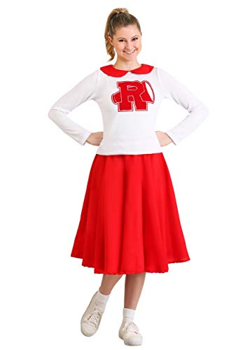 Fett Cheerleader Kostüm - Frauen Fett Rydell High Cheerleader Kostüm - XS