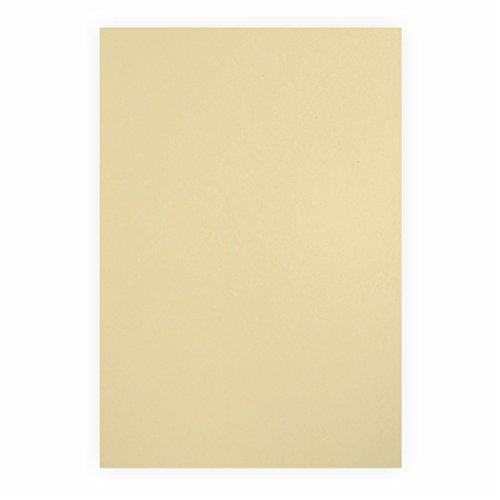 Tonpapier beige 130g/m², 50x70cm, 10 Bogen/Blätter -