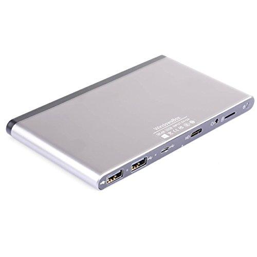 Netway NANUS II - MiniPC (5V, Quad-Core Z3735F a 1.3 GHz, 2 GB de RAM, 32GB flash, USB, HDMI) Windows 10