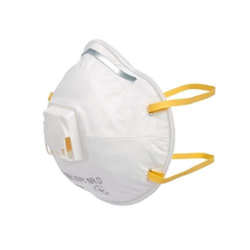 Ramda Pro® - Juego de 3 máscaras respiratorias - Máscara respiratoria Premium - FFP1 Máscara de protección bucal - Máscara de Polvo Fino con válvula