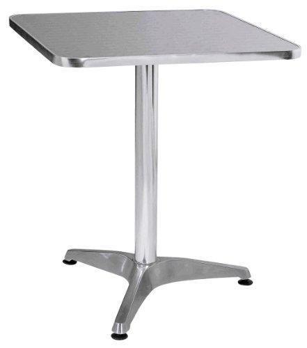 Premier Housewares 2401069 Tavolo Bistro, Alluminio