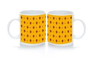Mug Tissu Provencal Orange