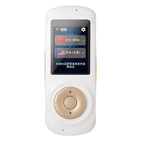 UHAoo 2,4-Zoll-Touchscreen Intelligentes Echtzeit-Sofortübersetzung Abendessen Instant Voice Translation Support 52 Sprachen WiFi und 4G Dual-Modus für das Lernen von Reisen Reisen,Business Metting