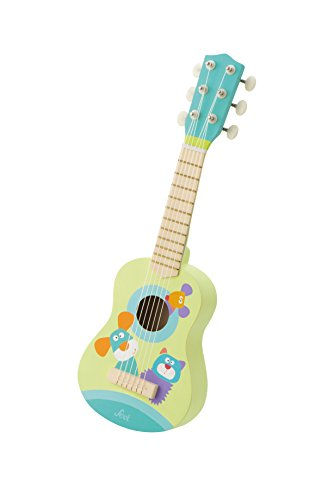 Trudi Peluche Guitarra, Color Verde (82983)