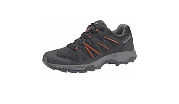 Details zu Salomon Redwood 3 Herren Trekking Trailschuh Outdoor Black UVP* 99,99