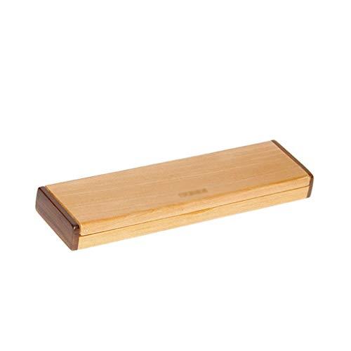 Lixmzzwj scatola di penna di tocco di legno, scatola di immagazzinaggio degli artisti pennelli di organizzatore disegno regali di natale per uomini o papà gadget regali personalizzati box set rack