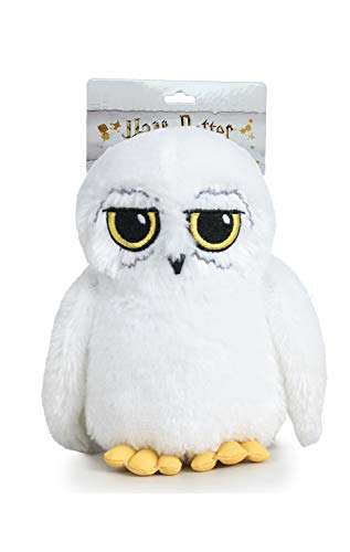 Famosa Softies Harry Potter - Peluche 9'84'/25cm Hedwig, la Lechuza Blanca de Harry con Blister Calidad Super Soft