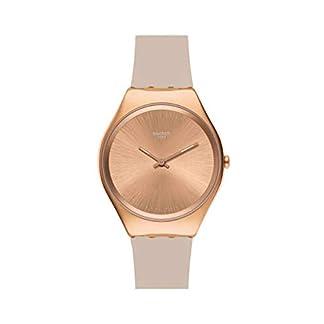 Swatch Reloj Analógico para Mujer de Cuarzo con Correa en Silicona SYXG101
