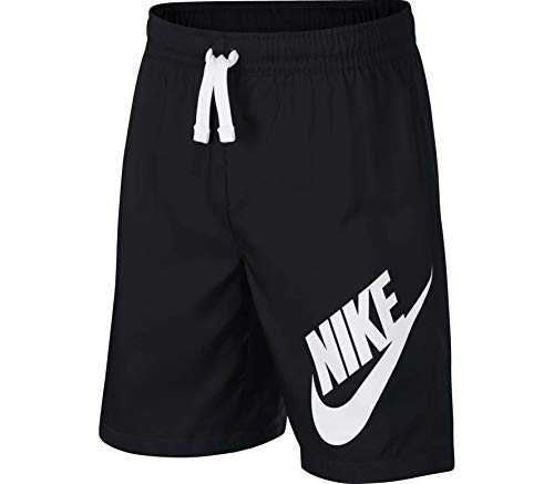 Nike Jungen Sportswear Shorts Black/White M