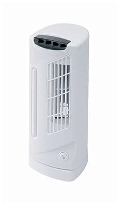 Connect-it Mini Tower Fan 3 Speed 90° Oscillation 30W H330mm Ref ES178