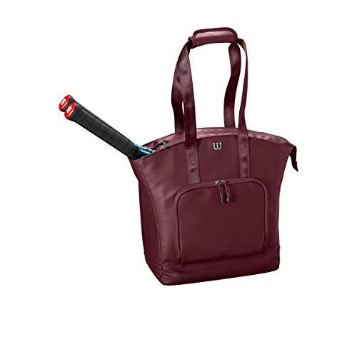 Wilson Tennisrucksack für Damen, Bis zu 2 Schläger, violett, WRZ868997