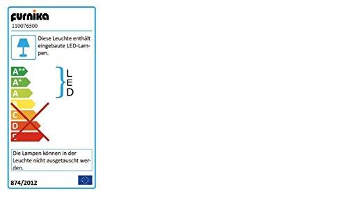 Dreams4Home Wohnkombination 'Alicante', Wohnwand, Anbauwand, Schrankwand, Kombination, Wohnzimmerschrank, Wohnzimmer, (B/H/T) ca. 292 x 198 x 47 cm, in Pinie Struktur Weiß , Beleuchtung:ohne Beleuchtung;Ausführung:ohne Glas-TV-Bühne - 4