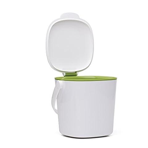 Oxo 1596000MLNYK Poubelle Plastique Blanc/Vert 30 x 20 x 15 cm 4 L