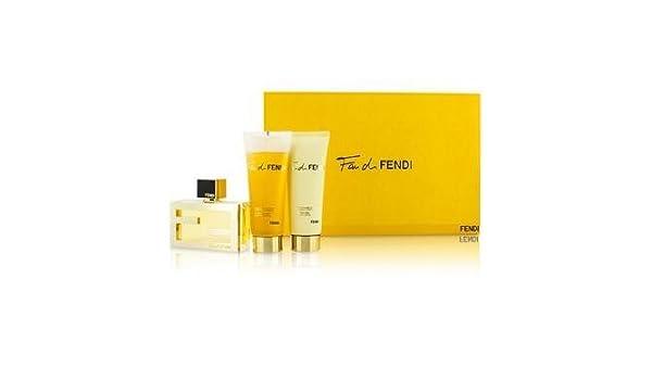 Gift Set Of Fendi Fan Pour Femme Women Eau De Parfum 50 Ml Vapo