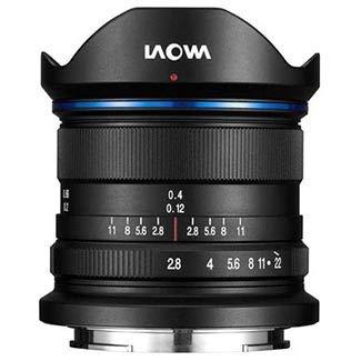 Laowa Ultra-Weitwinkel-Objektiv, 9 mm, f/2.8, Zero-D, für Spiegelreflexkameras, Schwarz, 15/10, für Sony E, Sony