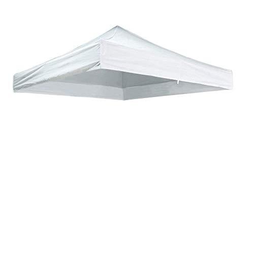 Cablematic - Lona de Techo para Carpa Plegable de 300x600cm Blanca