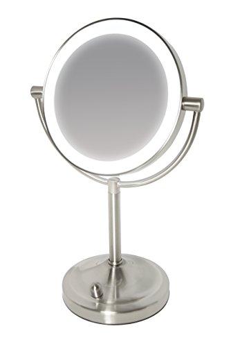 Homedics MIR-8150-EU Spa Beleuchteter Kosmetikspiegel (Homedics Gesicht)