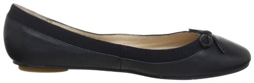Buffalo London 207-3562 KID LEATHER 95578, Ballerine Donna Nero (BLACK 01)