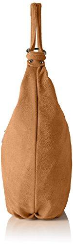 Bags4Less Damen Monaco Umhängetasche, 11x37x46 cm Braun (Braun)