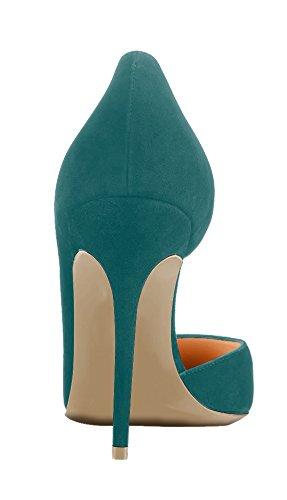 Guoar - Scarpe chiuse Donna Verde (verde)