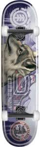 Element Garcia Animal Spirit Skateboard - 8.25 w/Thunder Trucks
