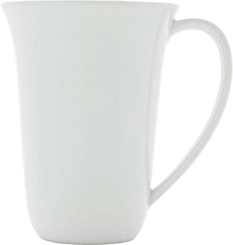 A di Alessi Ku Mug en Porcelaine - Blanc - Set de 4 Pièces