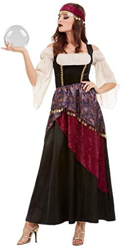 te Fortune Teller Gypsy Karneval Zirkus TV-Serie Halloween Kostüm Outfit ()