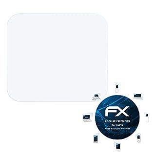 atFoliX Displayschutzfolie für GoPro Hero6 Black (Lens Protection) Schutzfolie - 3 x FX-Clear kristallklare Folie