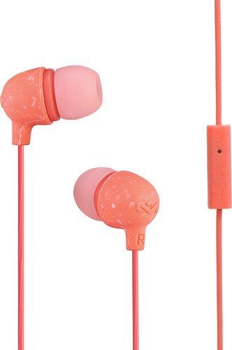 House of Marley Little Bird EM-JE061-PH in-Ear Headphones with Mic (Peach)