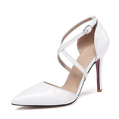 Da donna-Tacchi-Formale Serata e festa-Altro-A stiletto-Finta pelle-Nero Giallo Rosa Bianco White