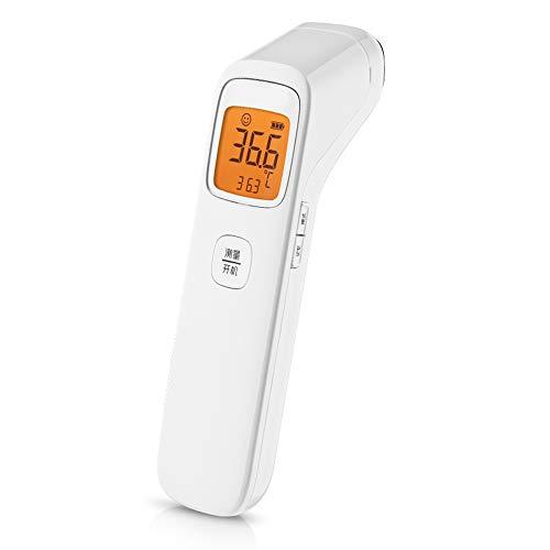 LYXLQ Elektronische Thermometer, Nicht Kontakt Infrarot-Digital-Thermometer Körper, 1 Sekunde Quick Test Dual-Mode-Fieber Warnung, Geeignet für Kinder/Kinder/Erwachsene