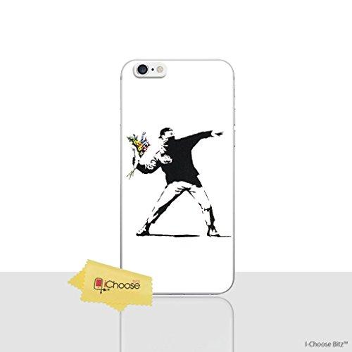 iPhone 6/6s Banksy Silikonhülle / Gel Hülle für Apple iPhone 6S 6 (4.7