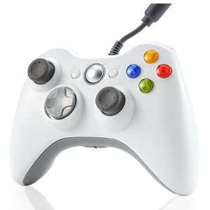 Xett Wired weiß Controller mit Kabel für Xbox 360 Console & Windows PC - suitable for Xbox 360 und Win 2000/ME/XP/Vista/7/8