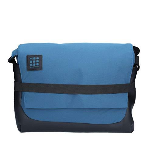 Moleskine ID Messenger Tasche Umhängetasche, 39 cm, Borealblau