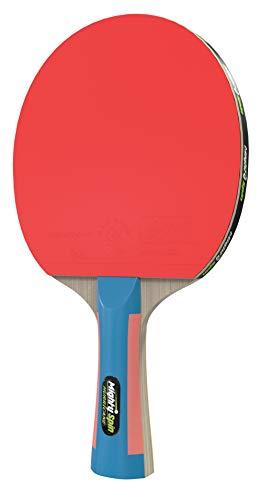 MightySpin Hurricane Ping Pong Paddel - Professioneller Tischtennisschläger mit ITTF 2,1 mm Gummi - Killer-Spin Speed Ping Pong Paddles - Loops SureSpeed Schläger-Technologie (Tornado Carbon) -