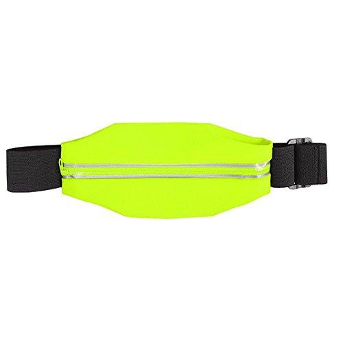 Bauchtasche Hüfttasche iPhone 6s / 6 Sport Waist Bag Handy Street Case Jogging , Farben:Blau Grün