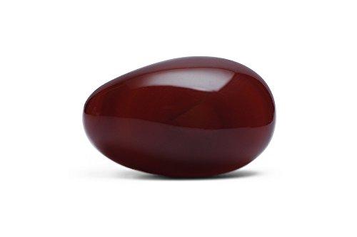 Agata rosso minerali pietra naturale per litoterapia.