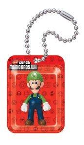Preisvergleich Produktbild Luigi Blister New Super Mario Bros. Wii Gacha Schlüsselanhänger Ball Chain Anhänger