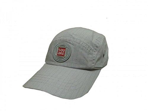 Square Skateboard Urban Cap Grey, Cap Size:S/M Adio Hat